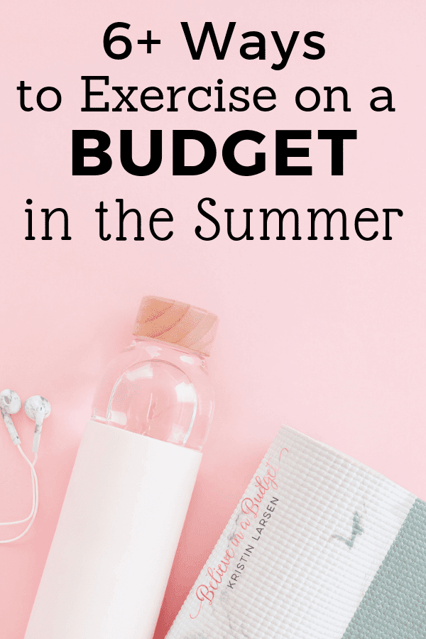Learn how to exercise on a budget this summer. Working out doesn't have to be expensive and can be affordable. Learn more here!