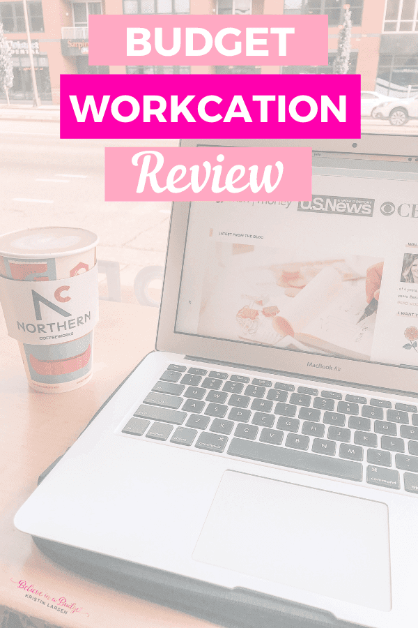 Here is my recent blog and business workcation. I'm also sharing how I booked my workcation on a budget!