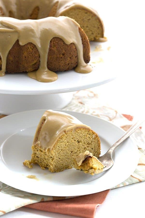 Pumpkin Caramel Bundt Cake